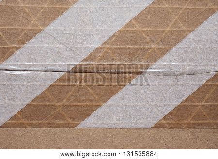 Packet Parcel With Striped Tape
