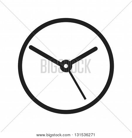 Clock, time, wall icon vector image. Can also be used for shopping. Suitable for web apps, mobile apps and print media.