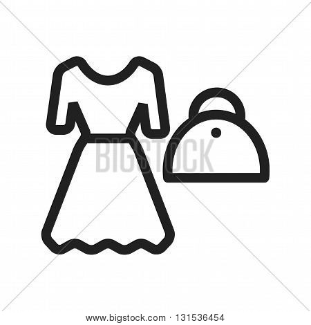 Shopping, fashion, style icon vector image.Can also be used for shopping. Suitable for web apps, mobile apps and print media.