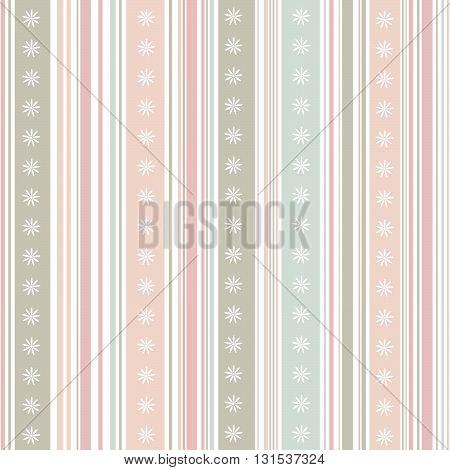 Striped pattern pastel color  in vector illustration