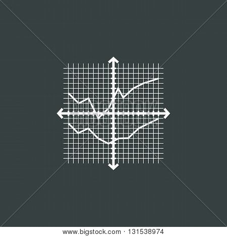 Grid Chart Icon In Vector Format. Premium Quality Grid Chart Symbol. Web Graphic Grid Chart Sign On