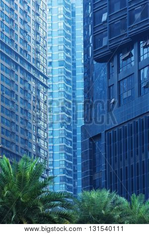 detail of modern architecture,chongqing china