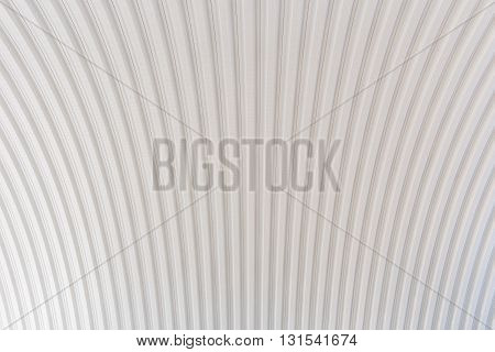 Corrugated Silver Roof Metal Texture Surface Structure