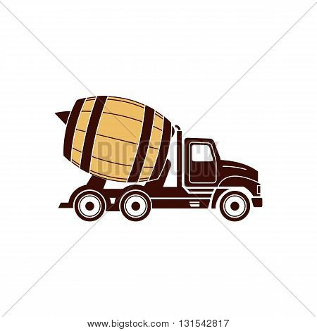 Brawery like truck icon vector illustration isolated on white background