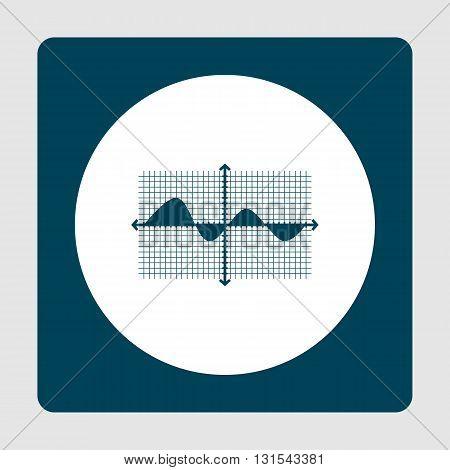 Marketing Icon In Vector Format. Premium Quality Marketing Symbol. Web Graphic Marketing Sign On Blu