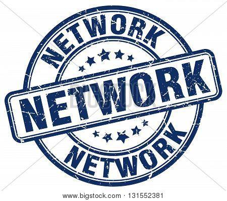 network blue grunge round vintage rubber stamp.network stamp.network round stamp.network grunge stamp.network.network vintage stamp.