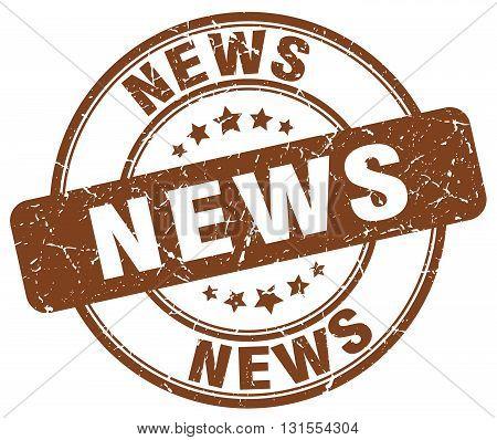 news brown grunge round vintage rubber stamp.news stamp.news round stamp.news grunge stamp.news.news vintage stamp.