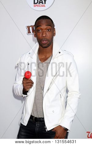 LOS ANGELES - MAY 26:  Jay Pharoah at the Red Nose Day 2016 Special at Universal Studios on May 26, 2016 in Los Angeles, CA