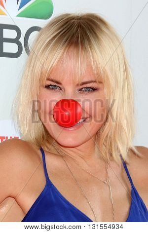 LOS ANGELES - MAY 26:  Malin Akerman at the Red Nose Day 2016 Special at Universal Studios on May 26, 2016 in Los Angeles, CA