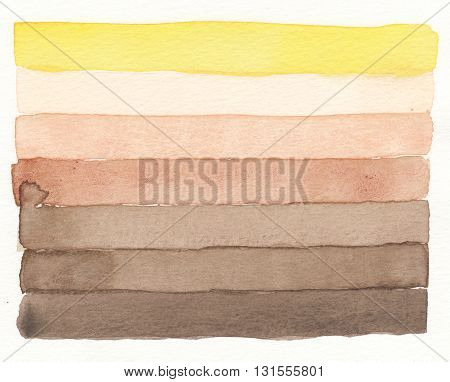 abstract earth tones watercolor layers pattern background