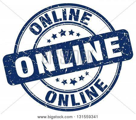 online blue grunge round vintage rubber stamp.online stamp.online round stamp.online grunge stamp.online.online vintage stamp.