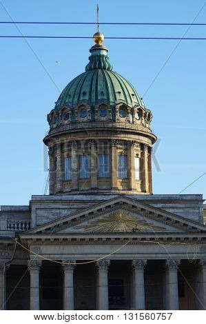 Kazan Cathedral One of the largest churches of St. Petersburg, made in the Empire style