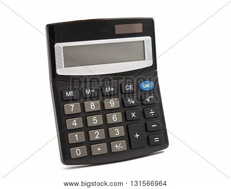 school, shiny Calculator isolated on white background