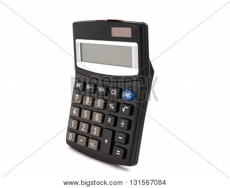 office school, Calculator isolated on white background
