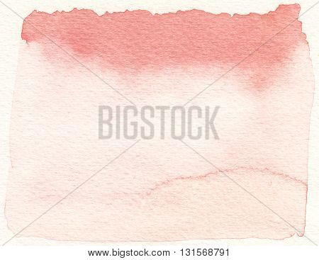 abstract wet layers pink tones watercolor background