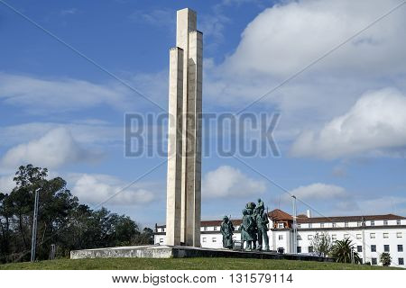 Pilgrim Monument to Fatima in Portugal europe