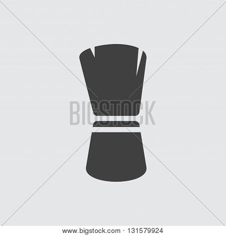 Brush icon illustration isolated vector sign symbol