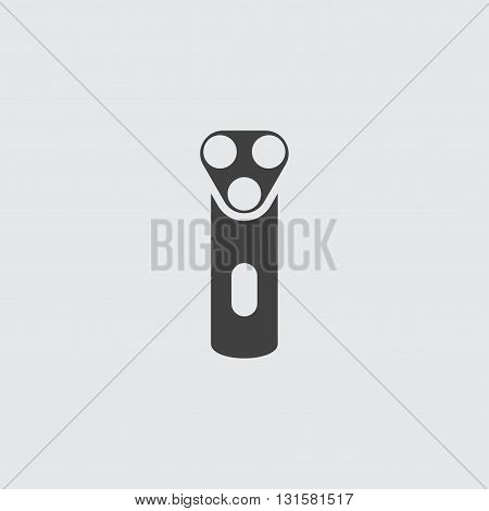 Electric shaver icon illustration isolated vector sign symbol