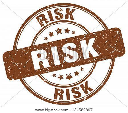risk brown grunge round vintage rubber stamp.risk stamp.risk round stamp.risk grunge stamp.risk.risk vintage stamp.