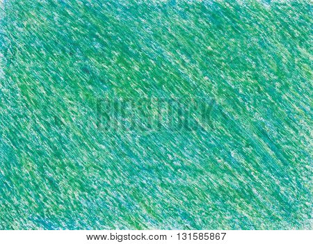intense green colors crayon drawings abstract background