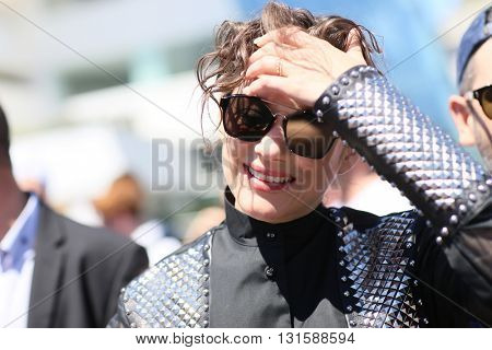 CANNES, FRANCE - MAY 19:  Marion Cotillard attends 'It's Only The End Of The World (Juste La Fin Du Monde)' during the Photocall - The 69th Cannes Film Festival on May 19, 2016 in Cannes.
