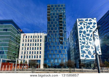 Modern Architecture - Oslo, Norway