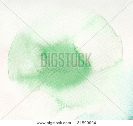 abstract green blot watercolor abstract textures background