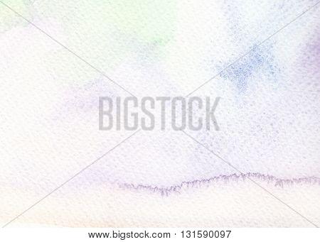 faded light tones purple blue watercolor paper background