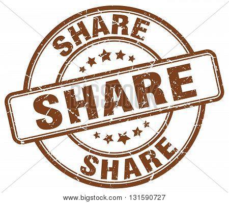 share brown grunge round vintage rubber stamp.share stamp.share round stamp.share grunge stamp.share.share vintage stamp.