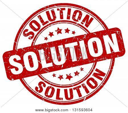 solution red grunge round vintage rubber stamp.solution stamp.solution round stamp.solution grunge stamp.solution.solution vintage stamp.