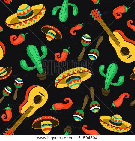 Mexican Seamless Backround