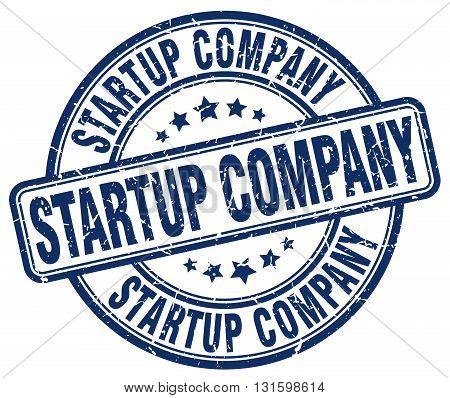 startup company blue grunge round vintage rubber stamp.startup company stamp.startup company round stamp.startup company grunge stamp.startup company.startup company vintage stamp.