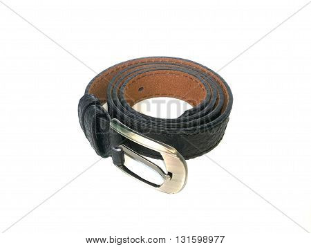 close up waistband on isolated white background