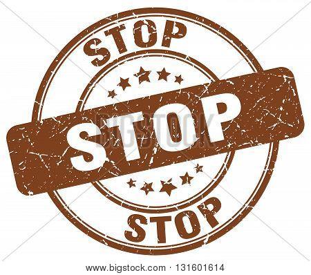 stop brown grunge round vintage rubber stamp.stop stamp.stop round stamp.stop grunge stamp.stop.stop vintage stamp.