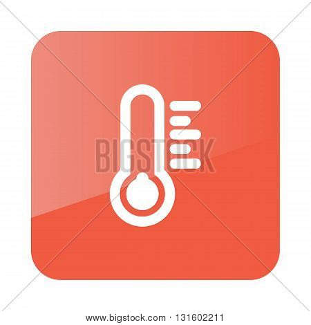 Thermometer Cold outline icon. Meteorology. Weather. Vector illustration eps 10