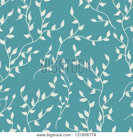Floral seamless pattern.Seamless pattern can be used for wallpaper pattern fills web page backgroundsurface textures. Vector illustration