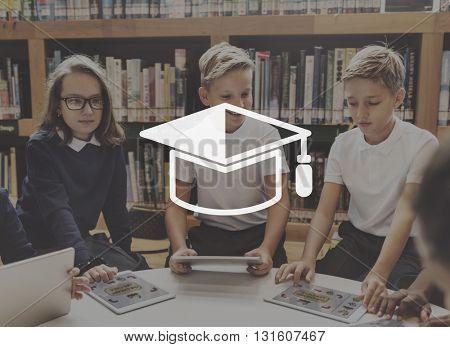 Education Student Graduate Graphic Concept