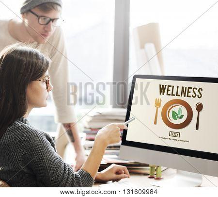 Wellness Wellbeing Health Healthi Lifestyle Concept