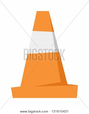 Under construction road repair sign and orange road repair sign cones isolated. Road repair sign vector and road repair sign warning construction. Barrier alert transportation signal orange road sign.
