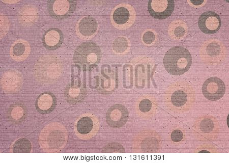 Pink, Beige And Brown Dots Texture With Lines