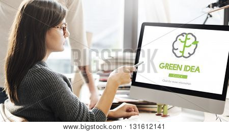 Green Idea Conservation Conservation Nature Concept