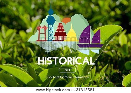Historical History Landmark Ancient Tourism Concept