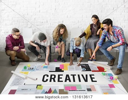 Creative Create Inspiration Invention Ideas Style Concept
