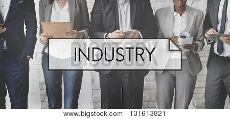 Industry Activity Company Energy Production Concept