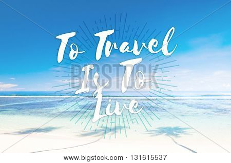 Travel Destination Exploration Holiday Journey Concept