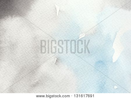 abstract blue black tones watercolor texture wet background