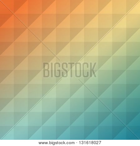 Colorful abstract texture. Vector design elements. Art advertising template. Business geometric background. Yellow abstract.
