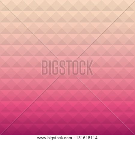 Artistic vector template. Colorful geometric texture. Vector design background. Artistic vintage pattern. Business cover. Vector light holiday card. Pink background. Fashion background.