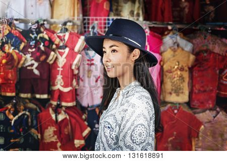 Asian Ethnicity Lifestyle Chilling Relaxing Leisure Concept