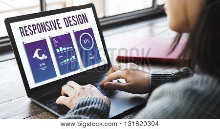 Responsive Design Programming Application Development Concept